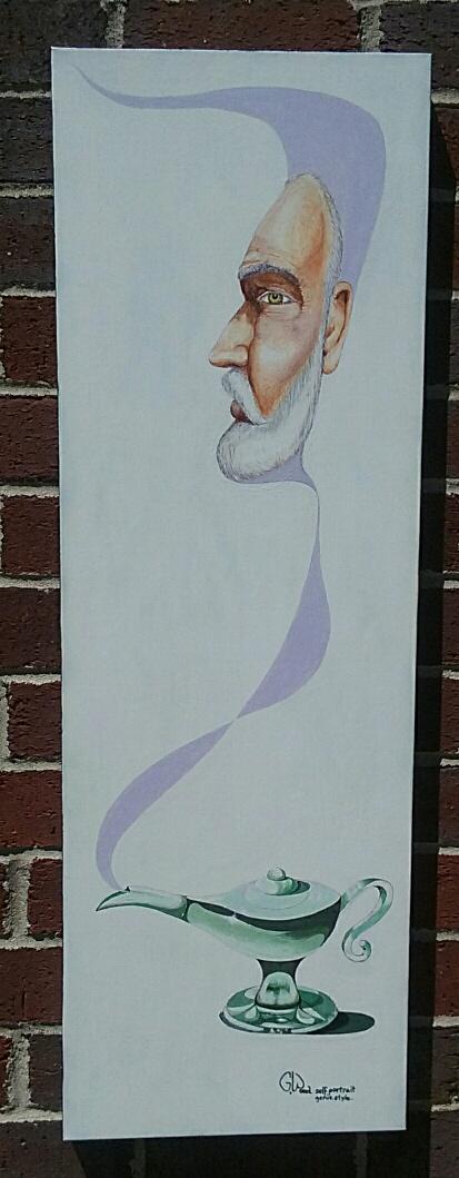 Genie style portrait